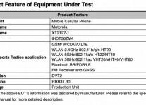 Motorola XT2127-1 на FCC