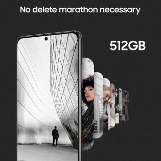 512 ГБ памяти для Galaxy S21 Ultra