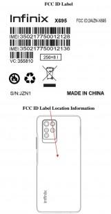 Infinix Note 10 Pro Подробная информация о листинге FCC