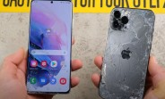 Galaxy S21 Ultra столкнется с iPhone 12 Pro Max в мучительном тесте на падение