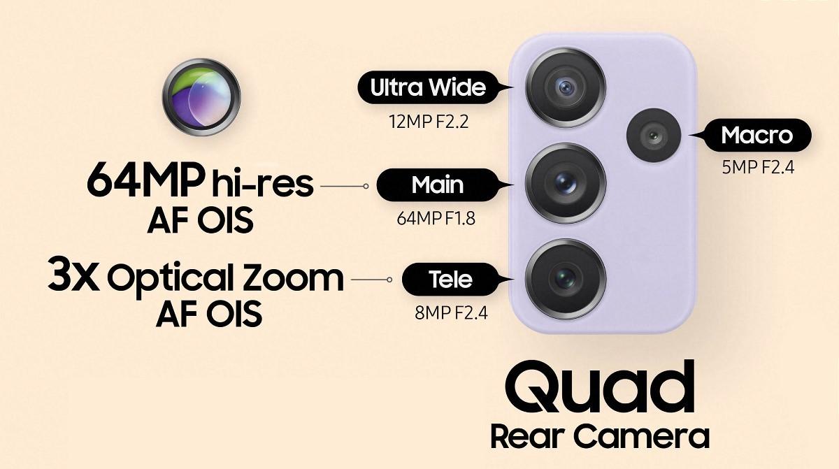 Samsung анонсирует Galaxy A52, A52 5G и A72 с дисплеями 90 Гц, 64 Счетверенные камеры MP