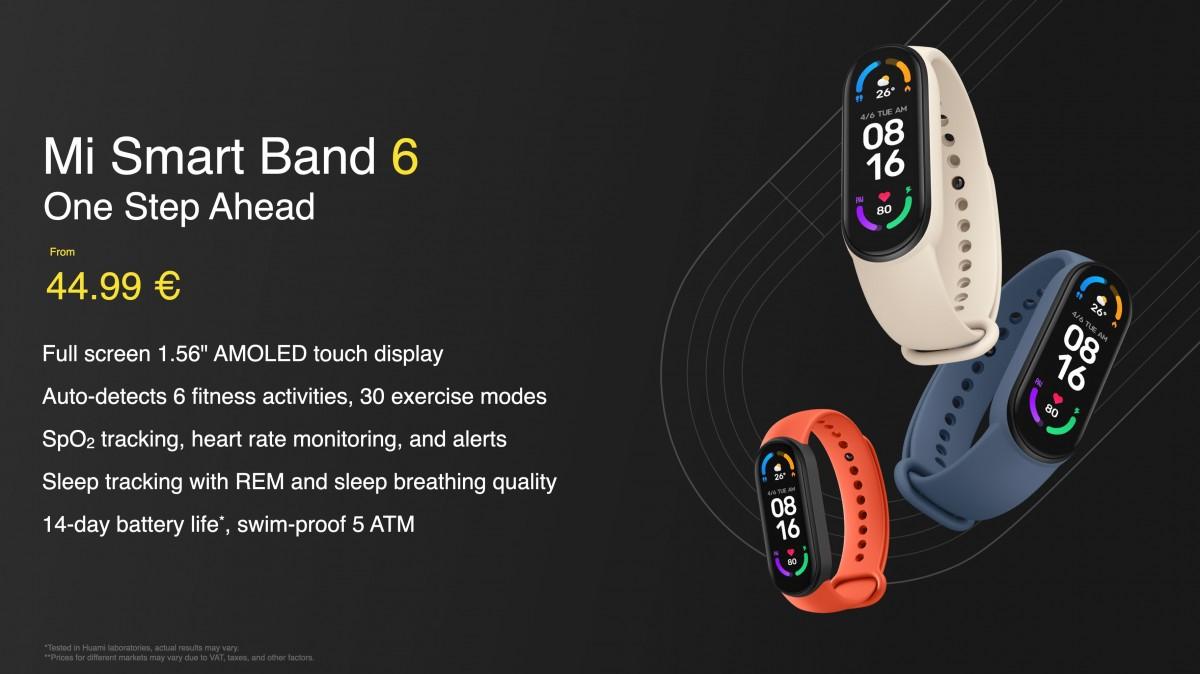 Xiaomi Mi Smart Band 6 получит «полноэкранный» AMOLED-дисплей, также представлен Mi Smart Projector 2 Pro