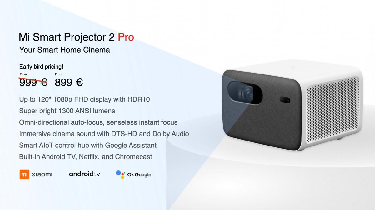 Xiaomi Mi Smart Band 6 получит «полноэкранный» AMOLED-дисплей, Mi Smart Projector 2 Pro также представлен