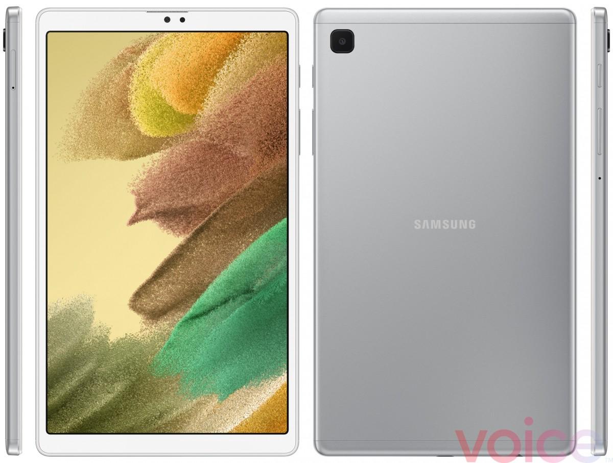 Samsung Galaxy Tab A7 Lite снова появляется, на этот раз серебристого цвета