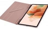 Новые просочившиеся рендеры показывают Samsung Galaxy Tab S7 Lite 5G в розовом