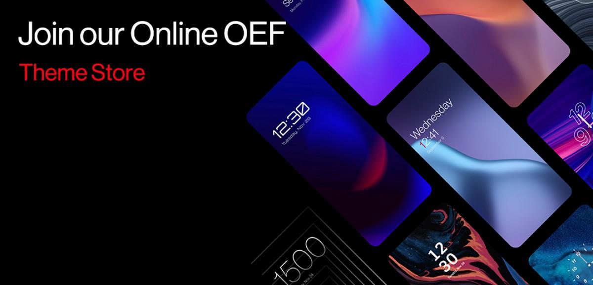 OxygenOS 12 может создать собственный магазин тем OnePlus