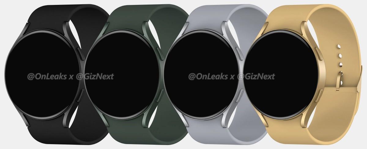 Samsung Galaxy Watch Active4 просочились рендеры