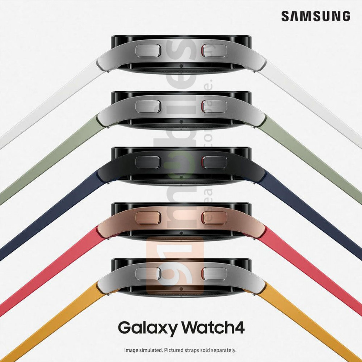 Официальная утечка данных Samsung Galaxy Watch4