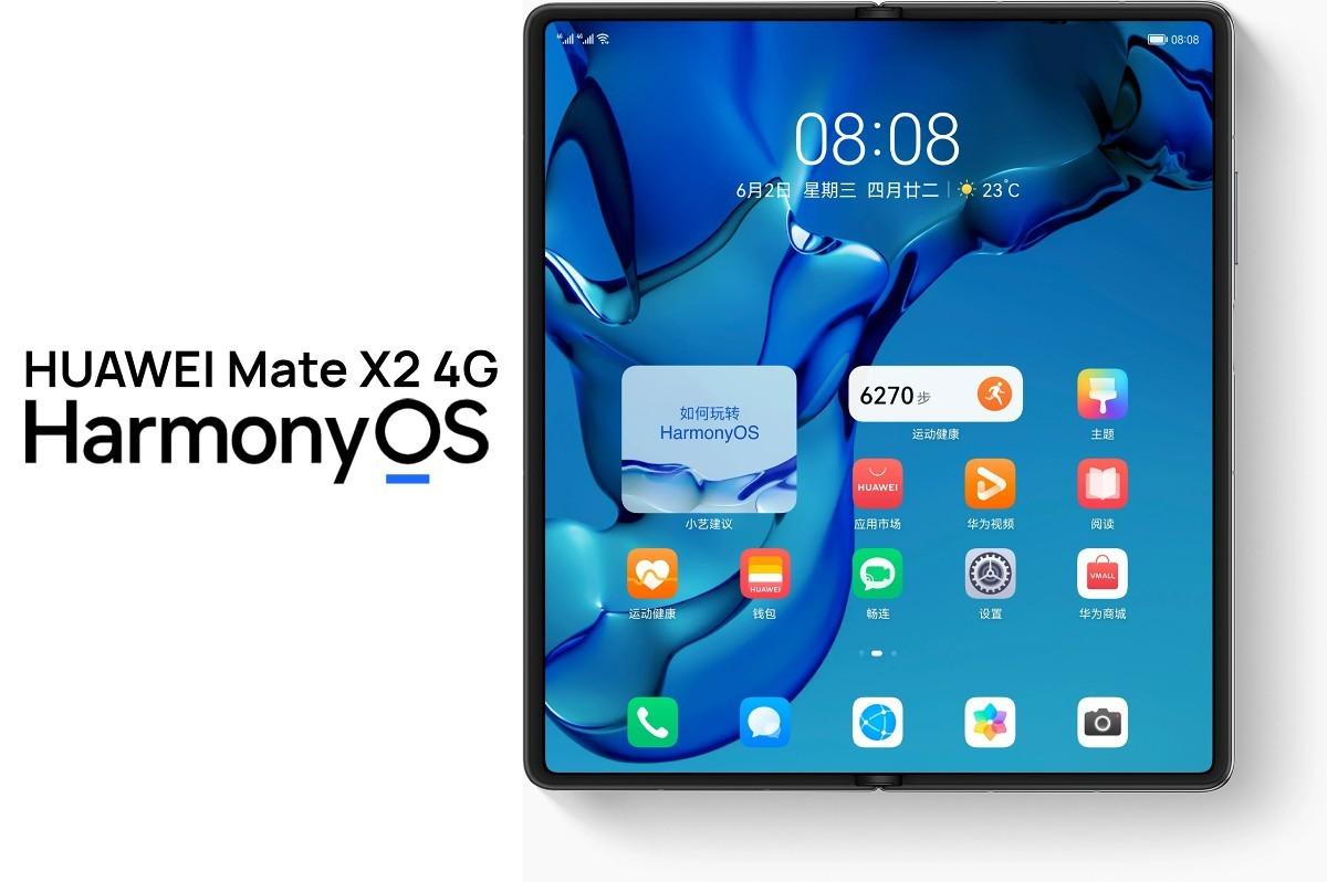 Huawei Mate X2 4G поступает в продажу в Китае с HarmonyOS 2.0. box