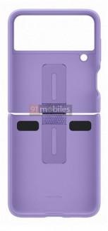 Официальный чехол для Samsung Galaxy Z Flip3 (утечка изображения) )