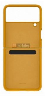 Официальный чехол Samsung Galaxy Z Flip3 (утечка изображения)