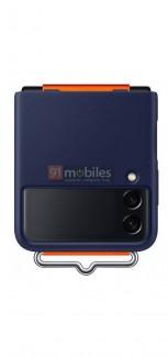 Официальный чехол для Samsung Galaxy Z Flip3 (утечка изображения)
