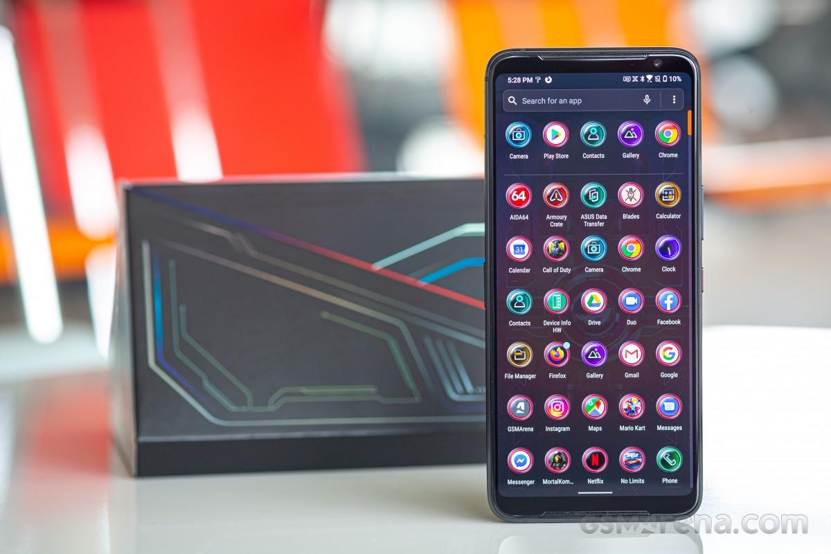 Asus ROG Phone 3 наконец-то получил обновление Android 11