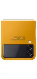 Официальный чехол Samsung Galaxy Z Flip3 (просочившееся изображение)