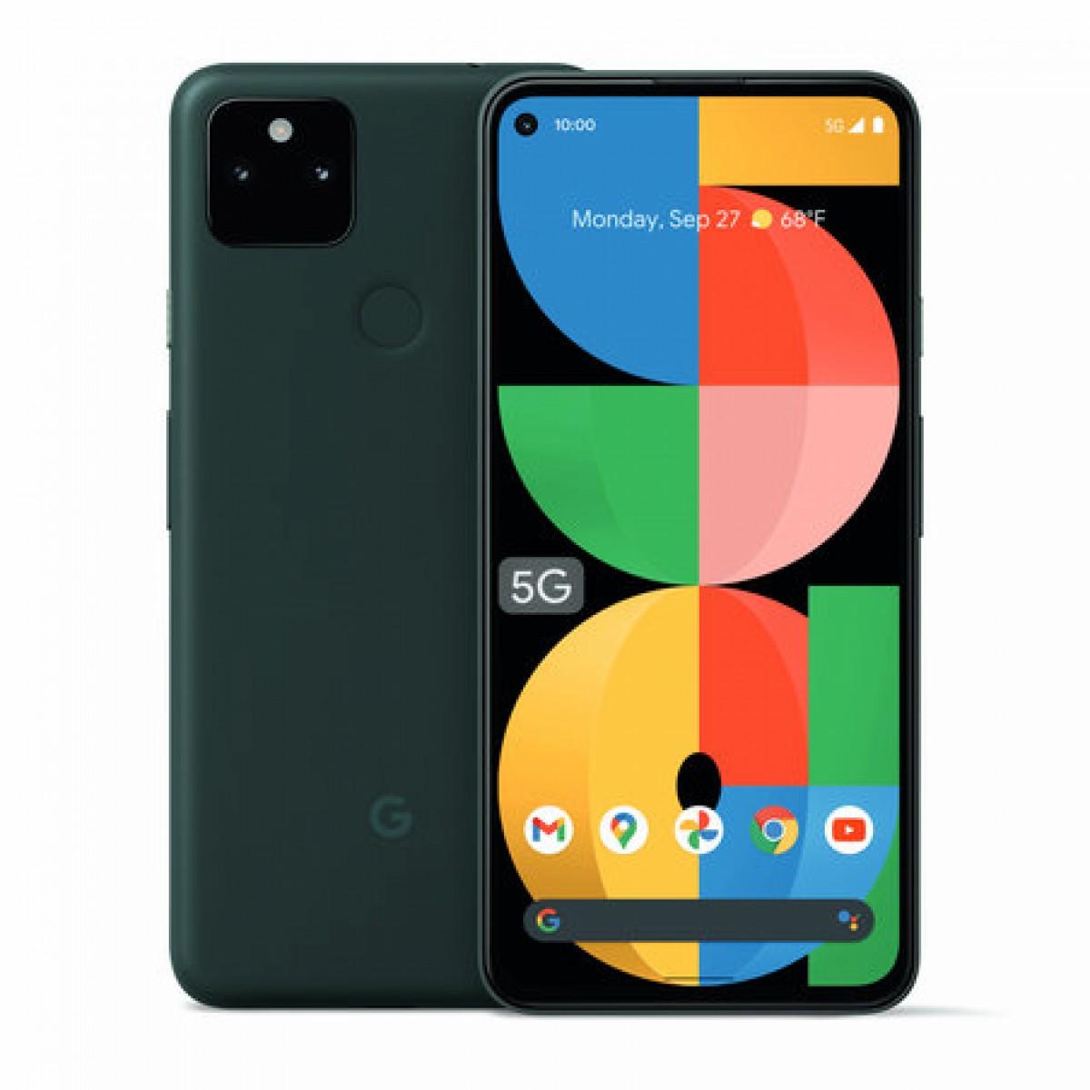 Google анонсирует Pixel 5a с 5G, IP67 и батареей 4680 мАч