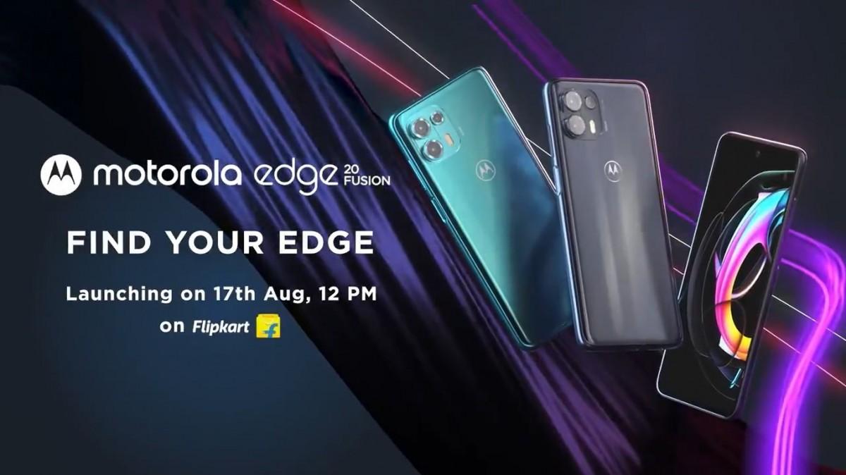 Технические характеристики Motorola Edge 20 Fusion раскрыты перед запуском 17 августа