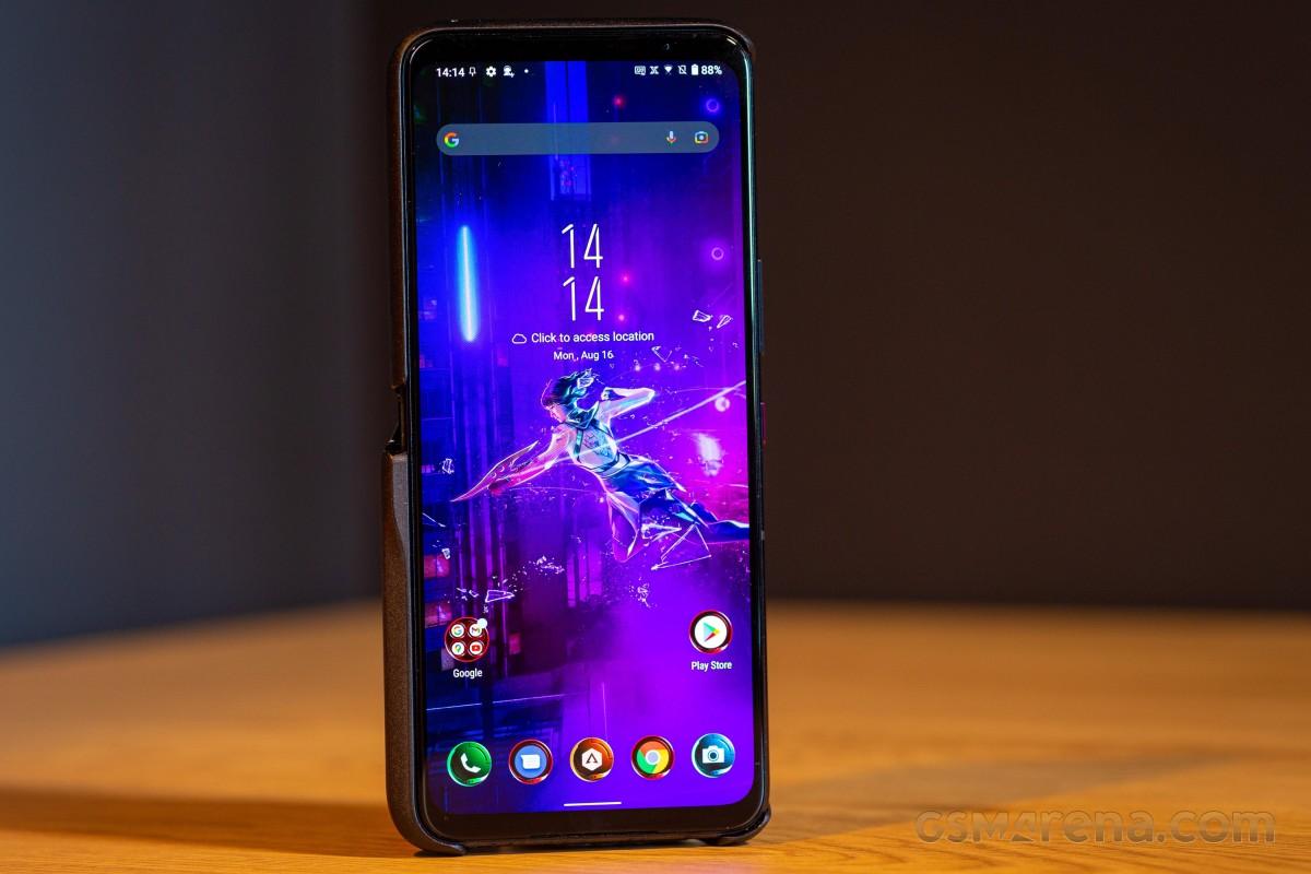 Практический обзор Asus ROG Phone 5s Pro