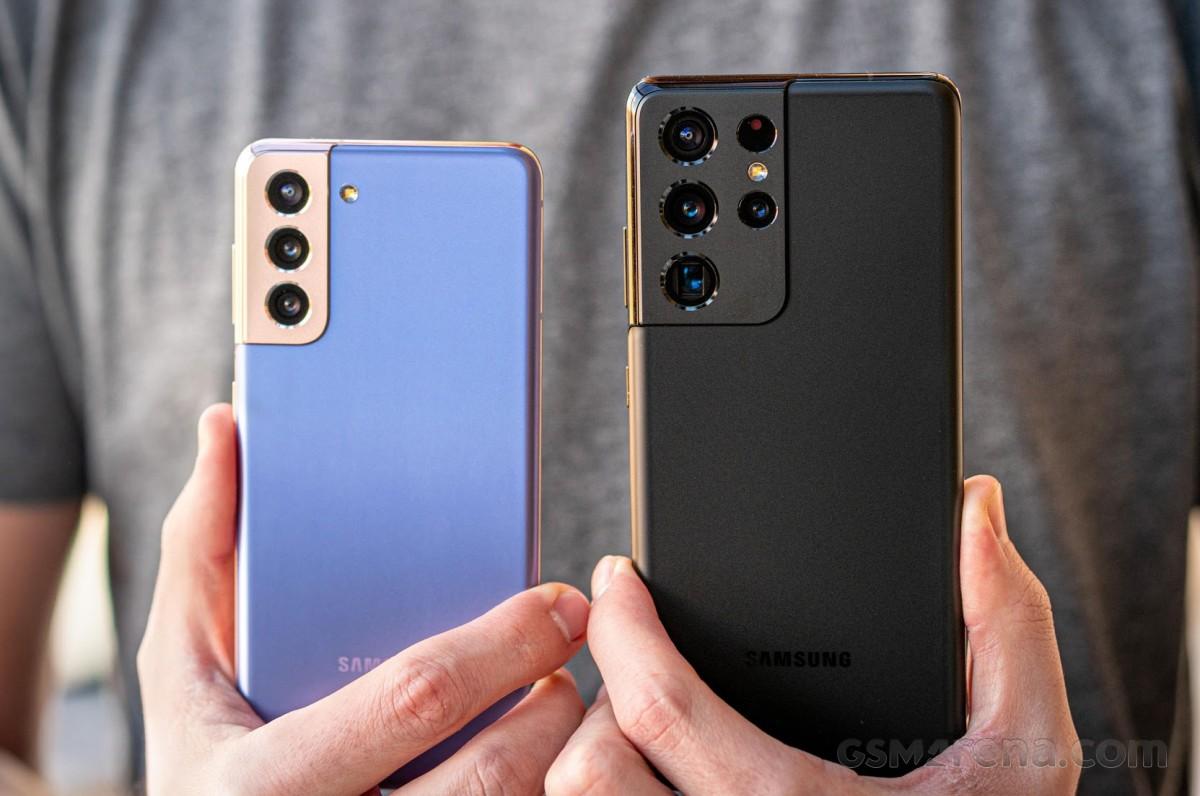 Samsung Galaxy S21 и Galaxy S21 Ultra