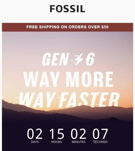 Умные часы Fossil Gen 6 будут представлены в августе 30