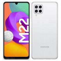 Samsung Galaxy M22 в белом цвете