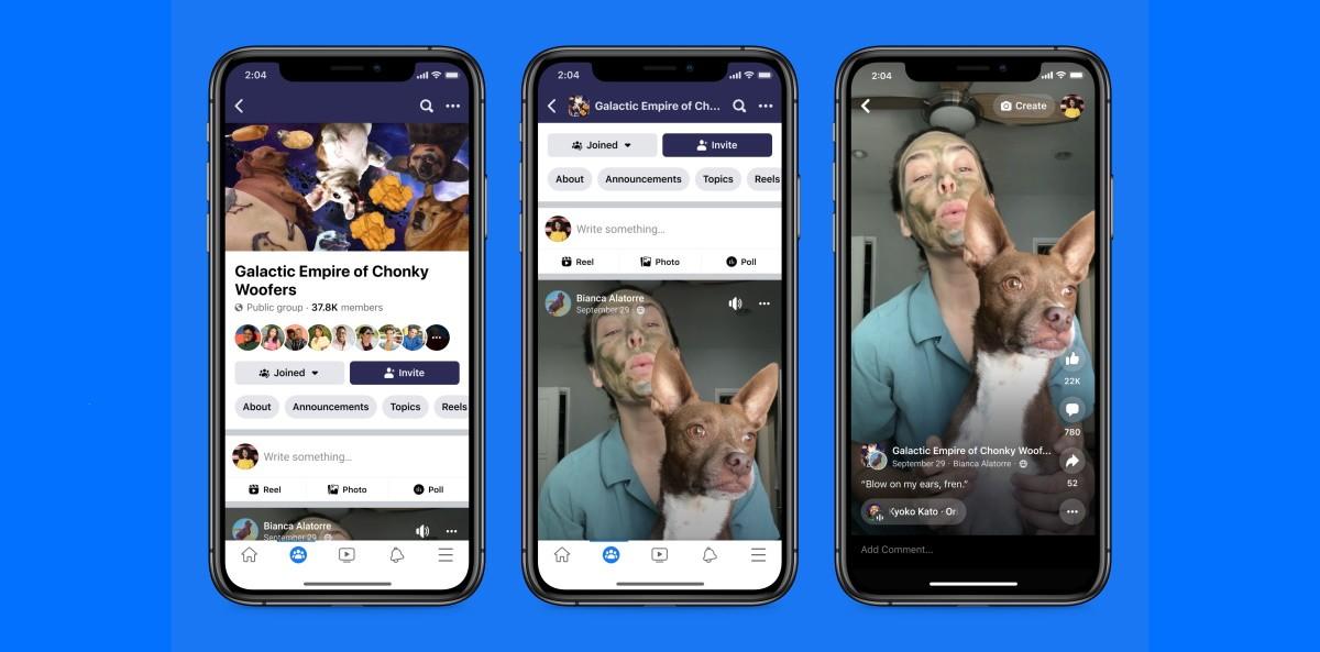 У Facebook есть Reels, что делает клонирование TikTok еще одним шагом вперед
