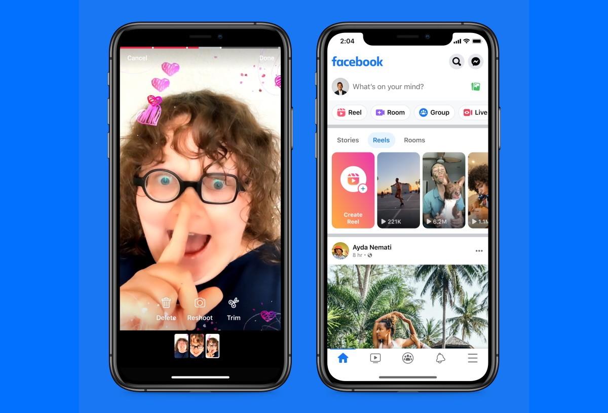 У Facebook теперь есть Reels, продвигая клонирование TikTok еще на один шаг