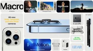 Основные характеристики: iPhone 13 Pro и 13 Pro Max