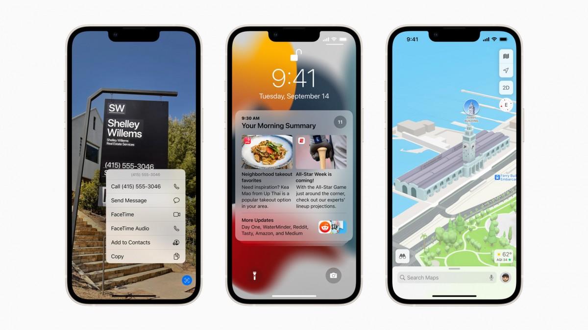Людей меньше интересует iOS 15, чем iOS 14, на основе установлено на данный момент