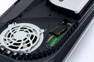 Установка диска M.2 в PlayStation 5