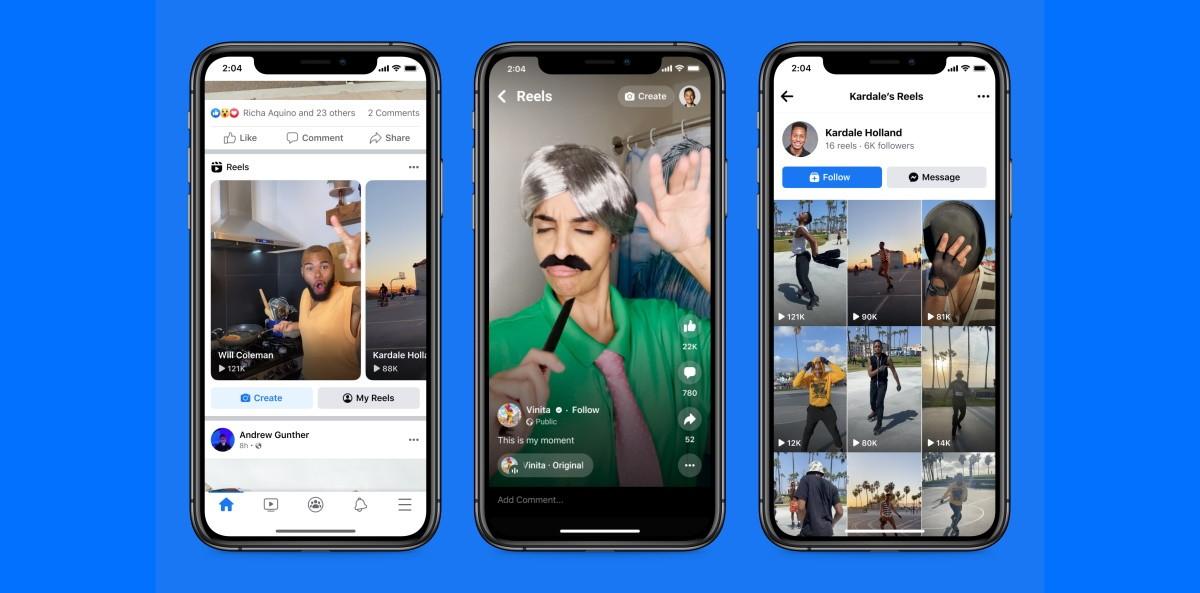 Facebook теперь имеет Reels, продвигая клонирование TikTok на один шаг вперед